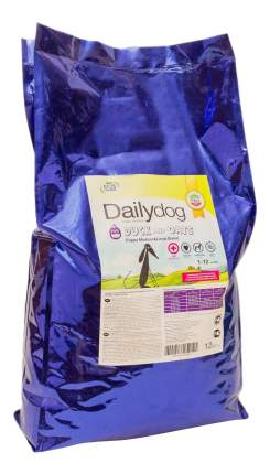 Сухой корм для щенков Dailydog Puppy Medium-Large Breed, утка и рис, 12кг