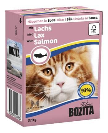Консервы для кошек BOZITA Feline Chunks In Sauce, с лососем в соусе, 16шт по 370г