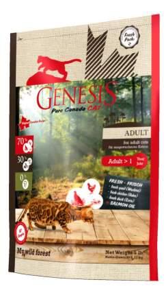 Сухой корм для кошек Genesis Pure Canada My Wild Forest, утка, курица, перепел, 2,2кг