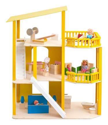 Кукольный дом Paremo Солнечная Ривьера желтый