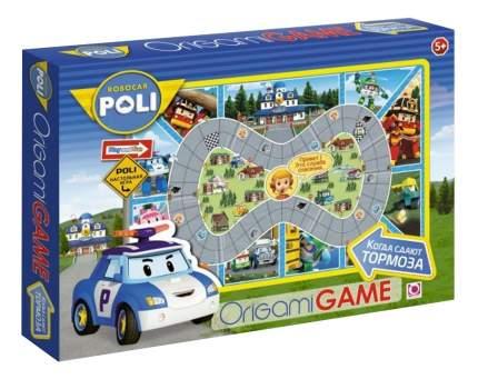 Семейная настольная игра Origami Robocar. Когда сдают тормоза