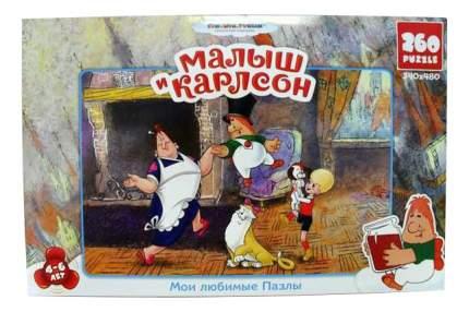 Пазл Россия Смф,пазл,260А, 10780 Малыш И Карлсон