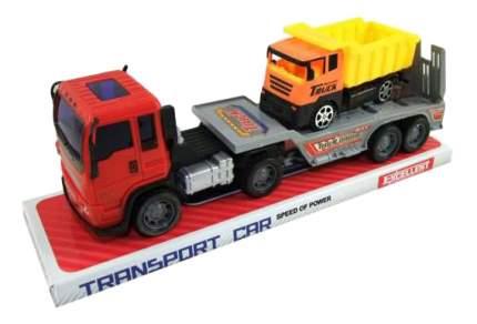 Набор машин строительной техники Junfa Toys Автовоз с самосвалом