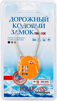 Замок для багажа кодовый Polar оранжевый 800722