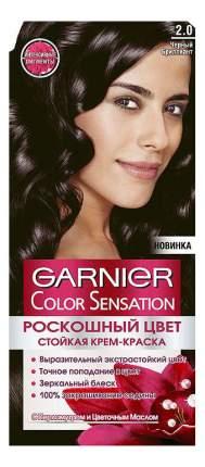 """Краска для волос Garnier Color Sensation """"Черный бриллиант"""" C4531010, тон 2.0"""