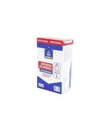 Перчатки для уборки Horeca Select Латекс неопудренные размер L 100 шт