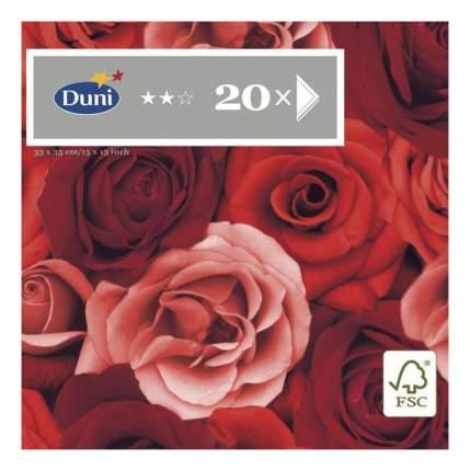 Салфетки Duni romance трехслойные 33*33 см  20 штук