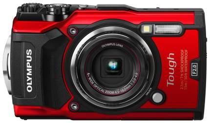 Фотоаппарат цифровой компактный Olympus STYLUS Tough TG-5 Red