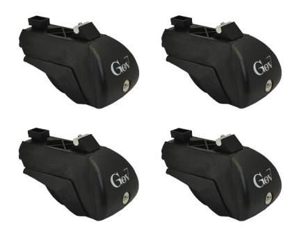 Комплект опор для автобагажника GEV Thor На интегрированные рейлинги GE9600