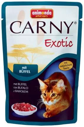 Влажный корм для кошек Animonda Carny Exotic, мясо буйвола, 85г