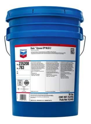 Специальная смазка для автомобиля Chevron Delo EP 2 15.9 кг