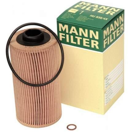 Фильтр масляный двигателя MANN-FILTER HU612/2X