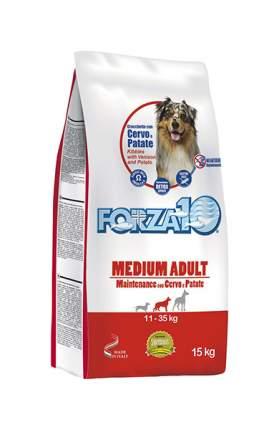 Сухой корм для собак Forza10 Maintenance Adult Medium, оленина, картофель, 15кг