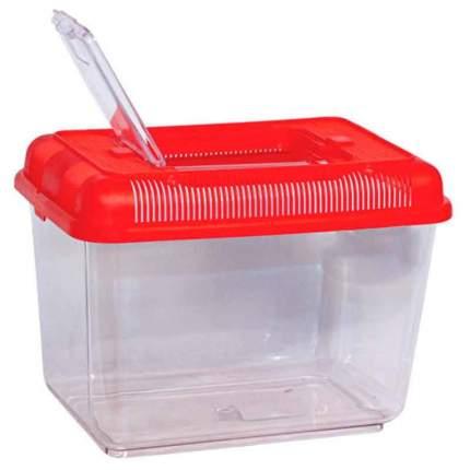 Переноска для грызунов Triol красный пластик 24x16x17 cм