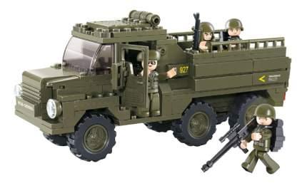 Конструктор пластиковый Sluban Армия - Военный грузовик 230 деталей