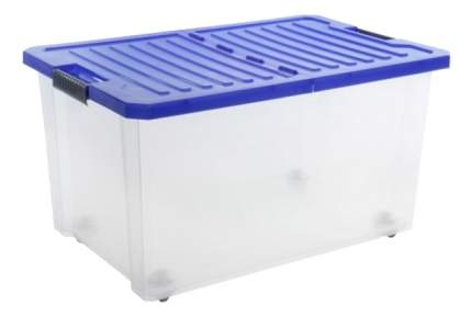 Ящик для хранения игрушек Plastic Republic Unibox 57 л синий