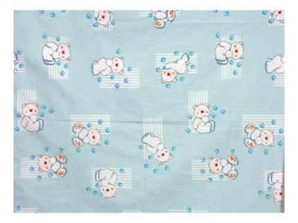 Наволочка на подушку Фея Мишки голубой