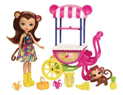 Куклы Enchantimals Mattel Фруктовая тележка FJH11/FCG93