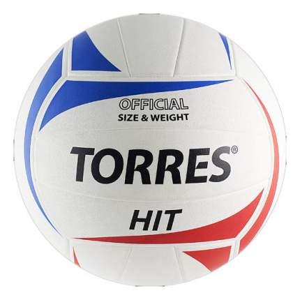 Волейбольный мяч Torres HIT V30055 №5 white