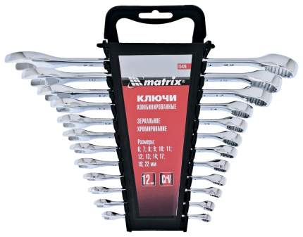 Набор комбинированных ключей MATRIX 15426