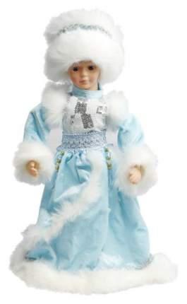 Кукла новогодняя Новогодняя сказка Снегурочка в голубом 40 см