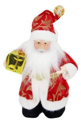 Кукла декоративная Новогодняя сказка Дед Мороз 14 см, 973025