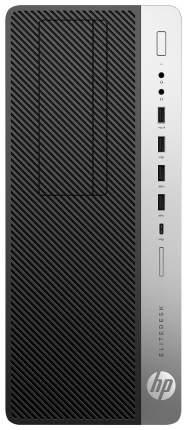 Системный блок HP EliteDesk 800 G3 1FU45AW Серебристый, черный