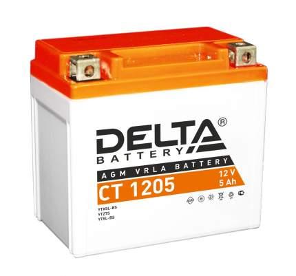 Аккумулятор автомобильный автомобильный Delta CT 1205 5 Ач