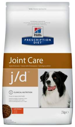 Сухой корм для собак Hill's Prescription Diet j/d Joint Care, курица, 2кг