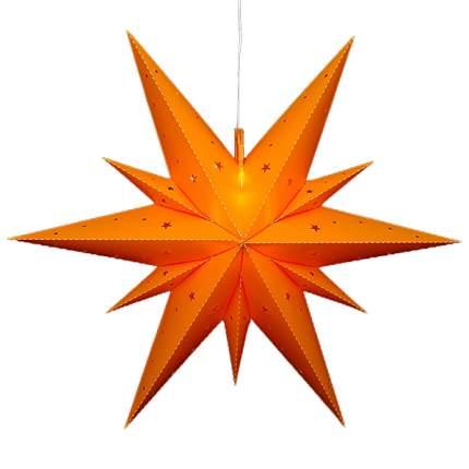 Sigro Светильник подвесной Звезда Вифлеемская 60 см желтая, LED подсветка 83 3002