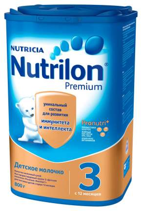 Молочная смесь 3 (от года) Nutrilon Premium 800 г