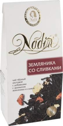 Чай черный Nadin земляника со сливками 50 г