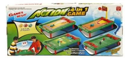 Настольная игра Shantou Gepai 4 в 1 (боулинг, футбол, баскетбол, гольф) 628-20