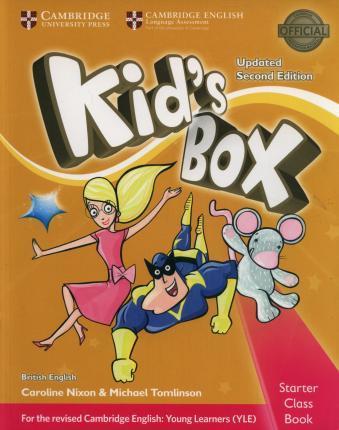 Kid's Box Upd 2Ed Starter PB +CD-ROM