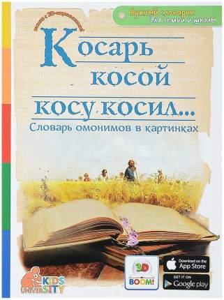 Косарь косой косу косил,, Словарь омонимов в картинках