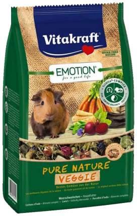 Корм для морских свинок Vitakraft Emotion Pure Nature Veggie 0.6 кг 1 шт