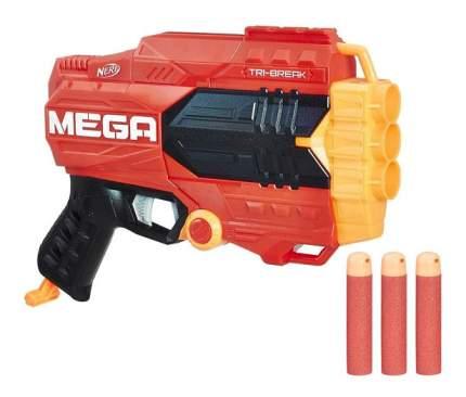 Бластер Нерф Мега Три-брейк Hasbro Nerf E0103
