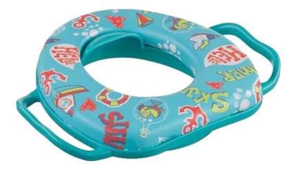 "Накладка на унитаз ""SAFARY"" aquamarine Happy Baby"