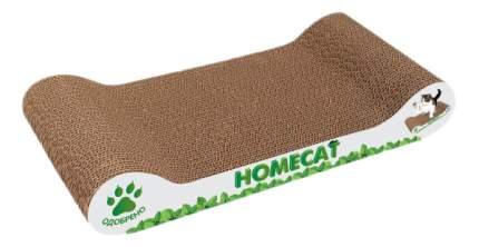 Когтеточка HOMECAT Мятная волна 45 х 30 х 10 см гофрокартон