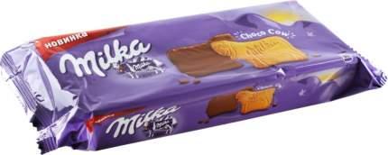 Печенье Milka покрытое молочным шоколадом 200 г