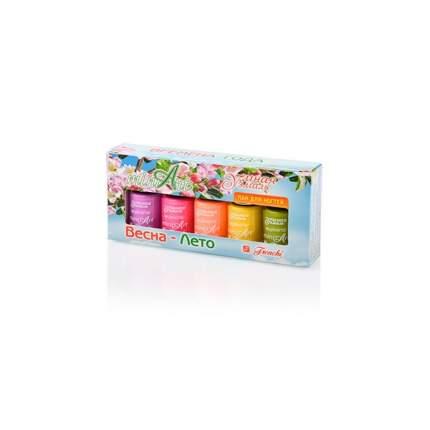 Набор цветных лаков Frenchi 'miniArt Весна-Лето', тон 2,5*5 мл