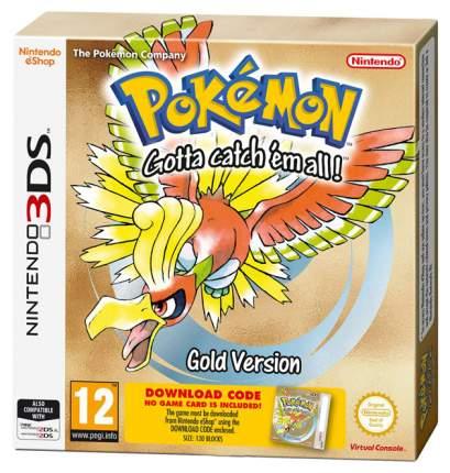 Игра Pokemon Gold для Nintendo 3DS