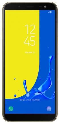 Смартфон Samsung Galaxy J6 3/32GB Gold (SM-J600FZDGSER)