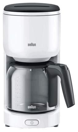 Кофеварка капельного типа Braun KF 3120 White