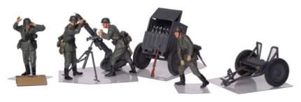 Модели для сборки Zvezda Немецкий 120-мм миномёт с расчетом и зарядным ящиком