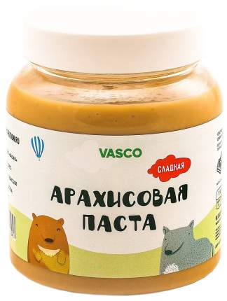 Арахисовая паста Vasco 800 г