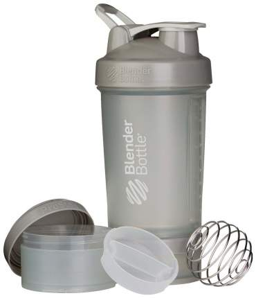 Шейкер Blender Bottle ProStak Full Color 1 кам. 650 мл серый графит