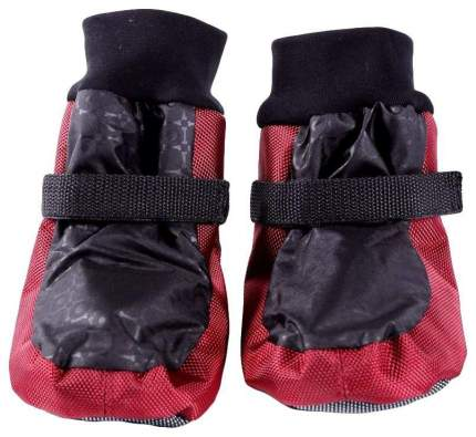 Обувь для собак OSSO Fashion размер L, 4 шт красный