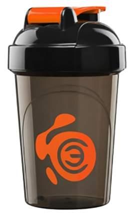 Шейкер Спортивный элемент Турмалин Мини 1 кам. 500 мл коричневый, оранжевый, черный