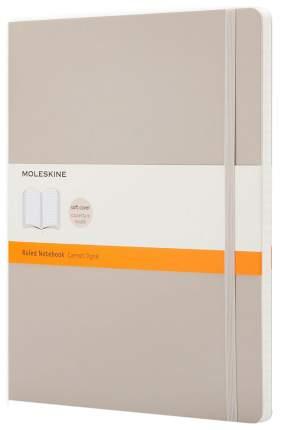 Блокнот Moleskine Classic Soft XLarge. Бежевый, в линейку
